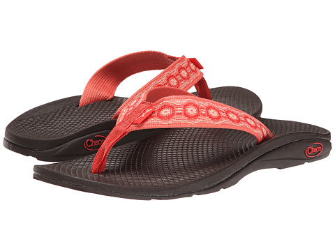 Chaco - Flip EcoTread (Coral Crops) Women's Shoes
