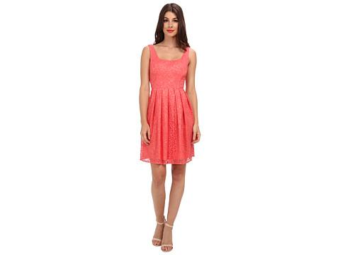 Ali Ro - Scoop Neck Full Skirt (Ginger) Women's Dress