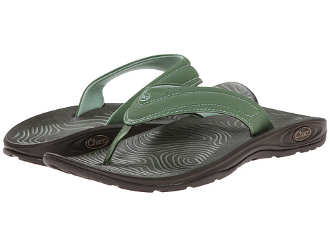 Chaco - Z/Volv Flip Synth (Vineyard Green) Women