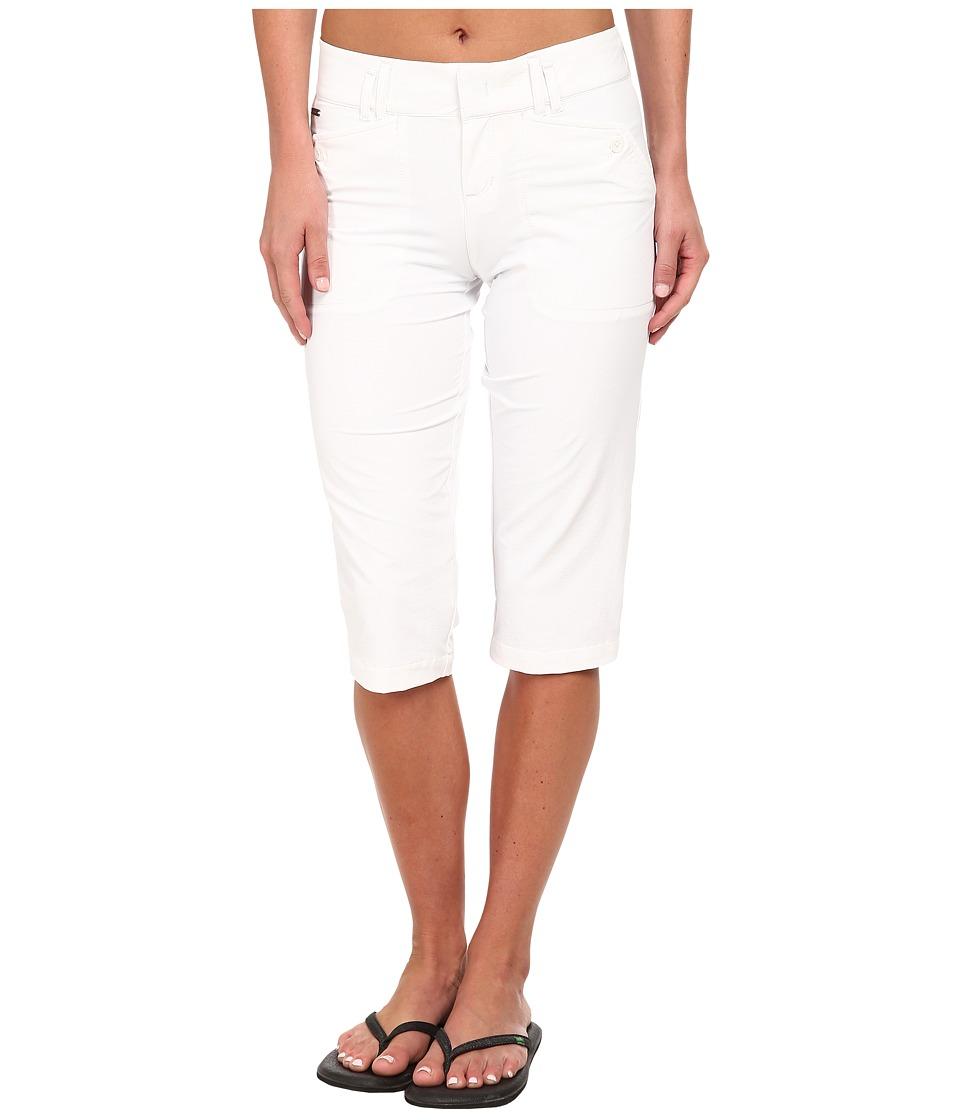 Lole - Melbourne Capri (White) Women's Capri