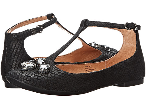 Seychelles - Witty (Black Snake) Women's Flat Shoes