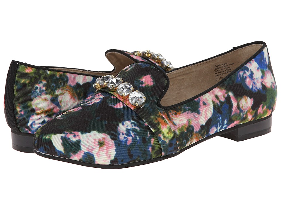 BC Footwear - Jumpin' Around (Floral) Women's Slip-on Dress Shoes