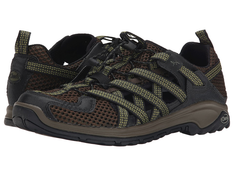 Chaco - Outcross Evo 1 (Deep Olive) Men's Shoes