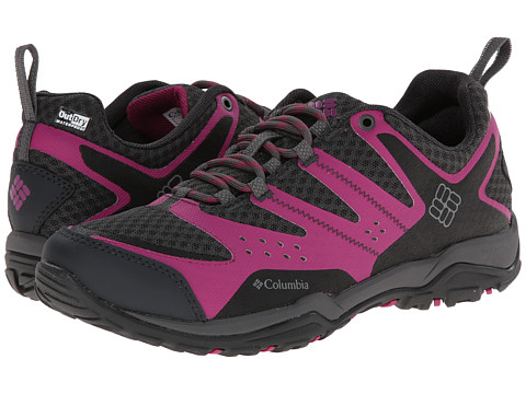 Columbia - Peakfreak XCRSN XCEL Outdry (Fuchsia/Light Grey) Women's Shoes