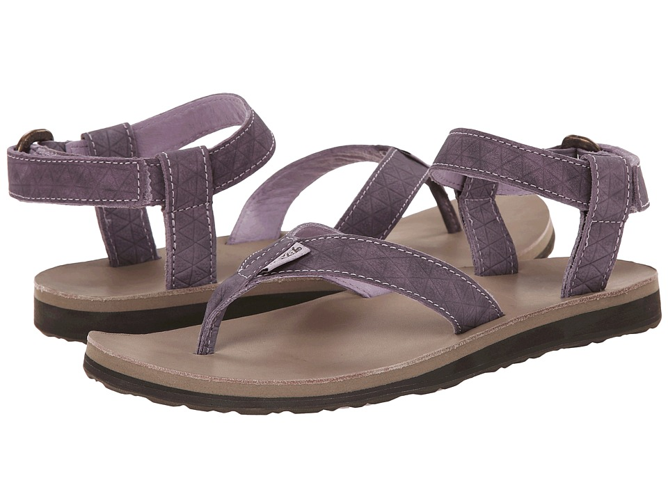 Teva Original Sandal Leather Diamond (Sea Fog) Women