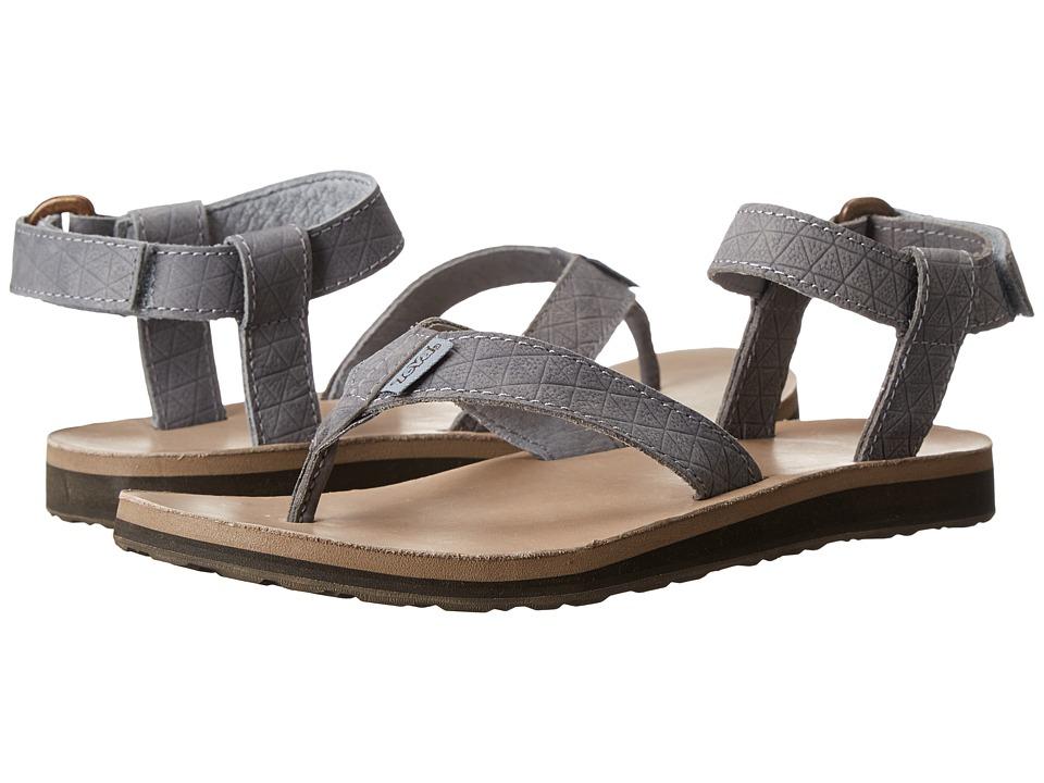 Teva - Original Sandal Leather Diamond (Tradewinds) Women's Sandals