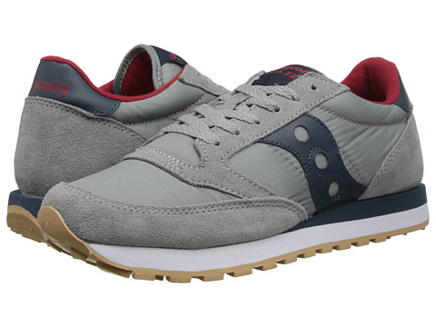 Saucony Originals - Jazz Original (Grey/Dark Blue) Men's Classic Shoes