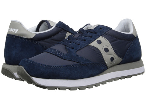 Saucony Originals - Jazz Original (Navy/Grey) Men's Classic Shoes