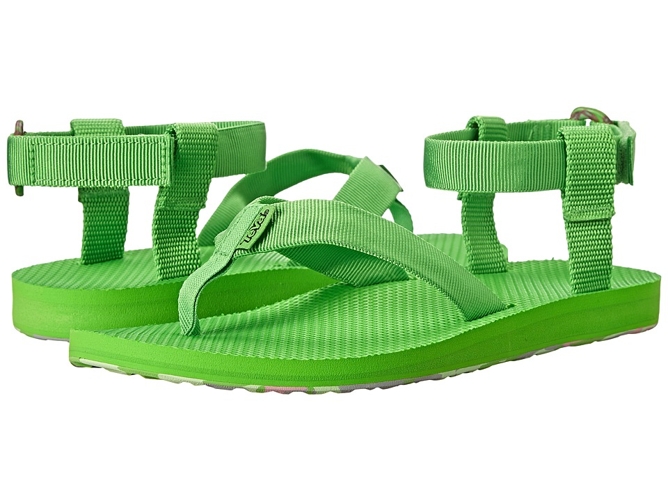 Teva Original Sandal Marbled (Jasmine Green) Women
