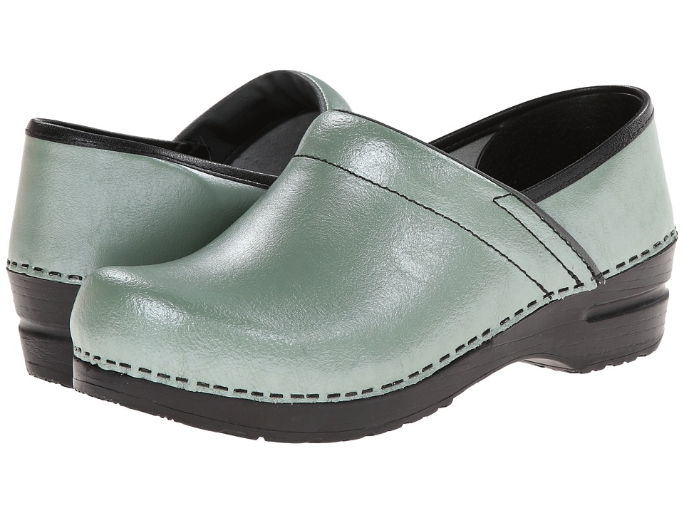 Sanita - Professional (Green Pearl) Women's Clog Shoes