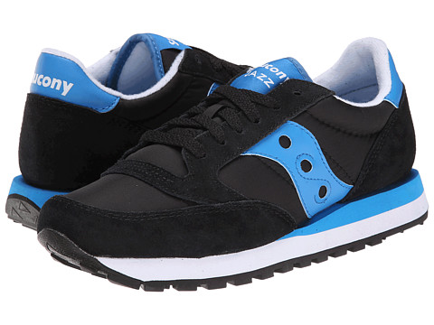 Saucony Originals - Jazz Original (Black/Blue) Women's Classic Shoes