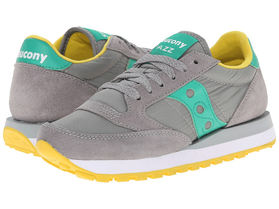 Saucony Originals - Jazz Original (Grey/Teal 1) Women's Classic Shoes