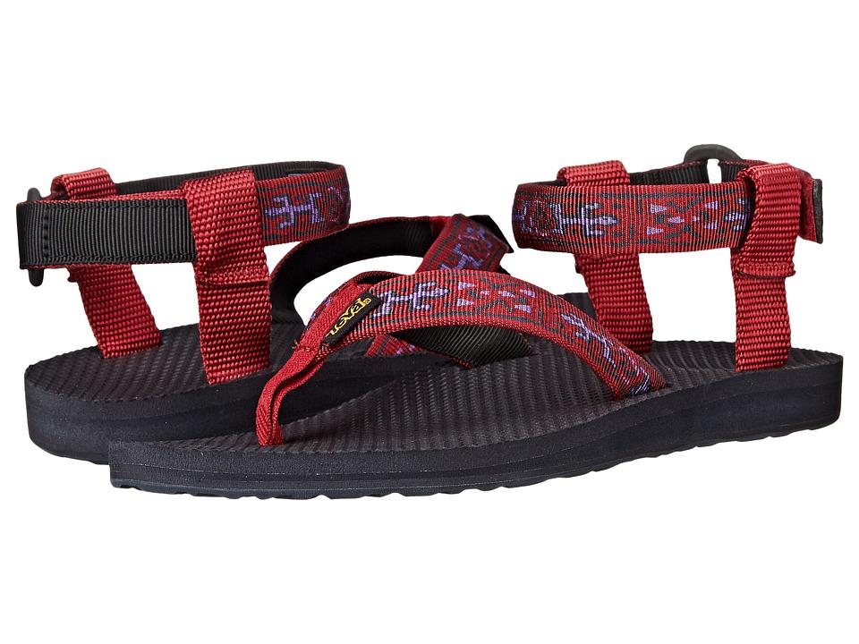 Teva - Original Sandal (Old Lizard Red) Women's Sandals