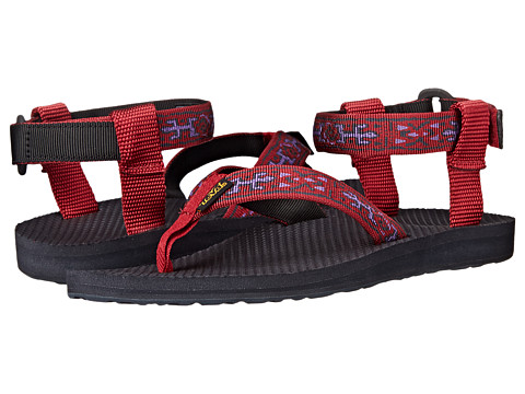Teva - Original Sandal (Old Lizard Red) Women