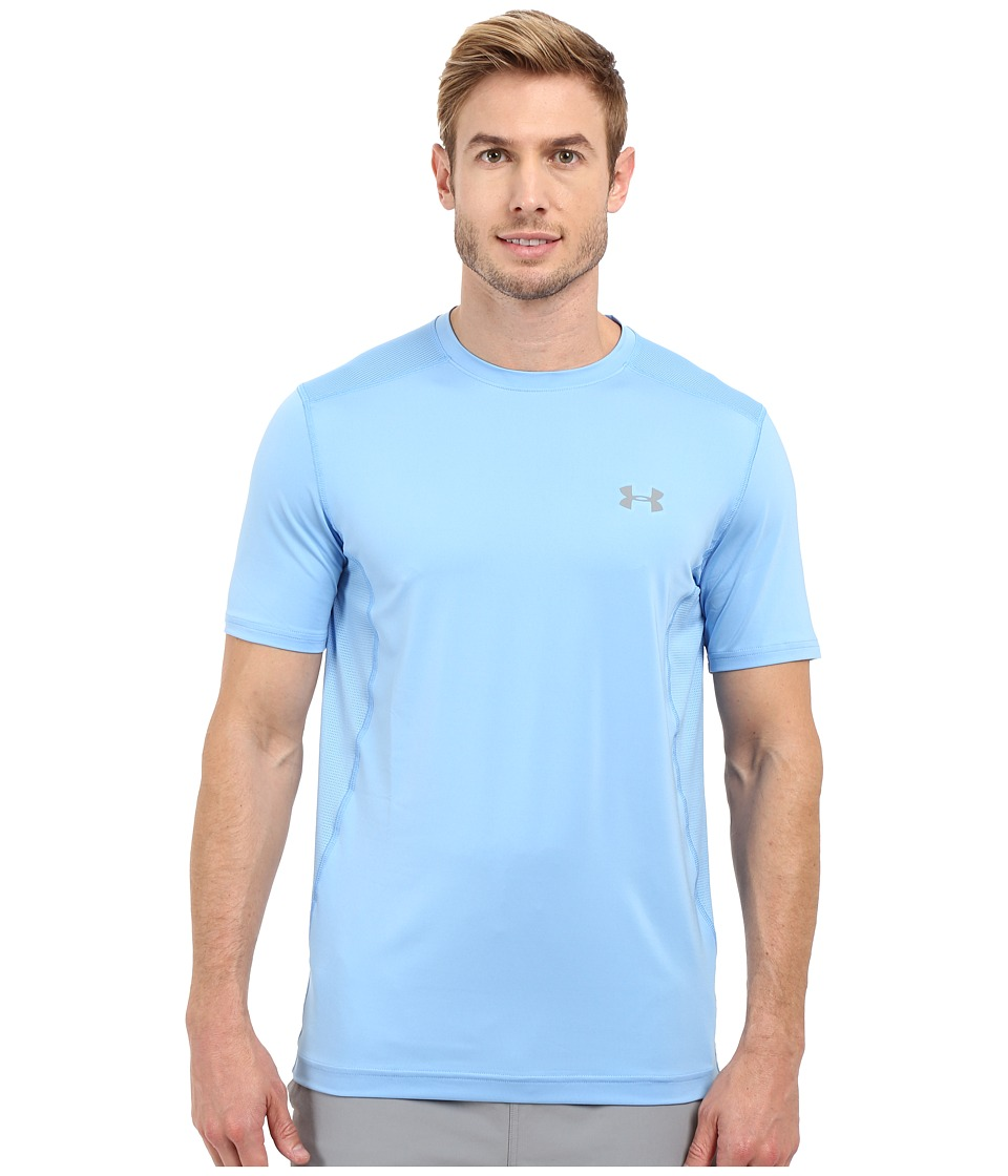 Under Armour - Raid S/S Tee (Carolina Blue/Carolina Blue/Steel) Men's Short Sleeve Pullover