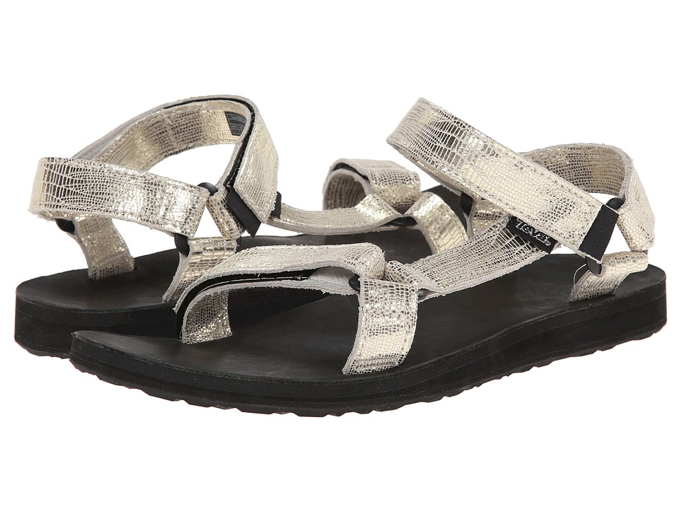 Teva - Original Universal Leather Metallic (Gold) Women's Sandals