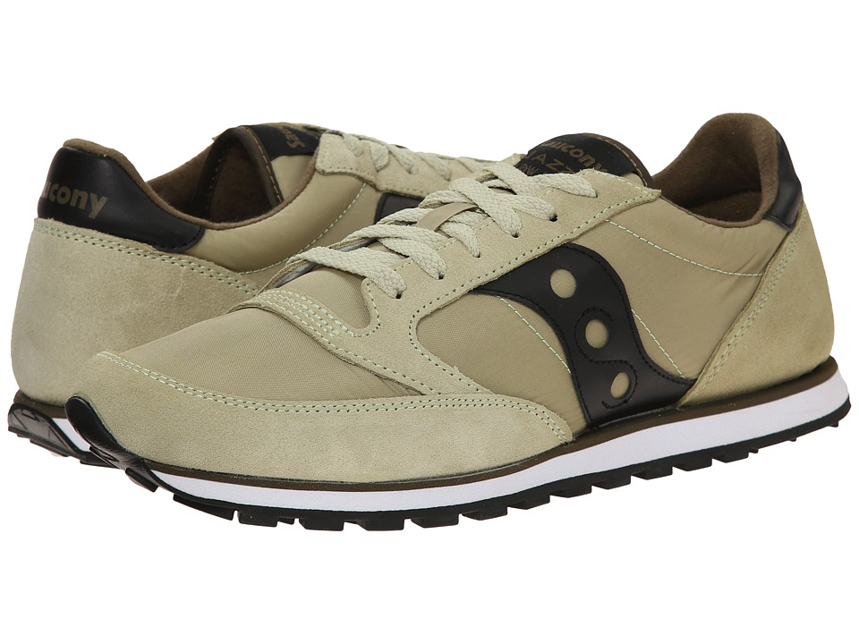 Saucony Originals - Jazz Low Pro (Light Green/Black) Men