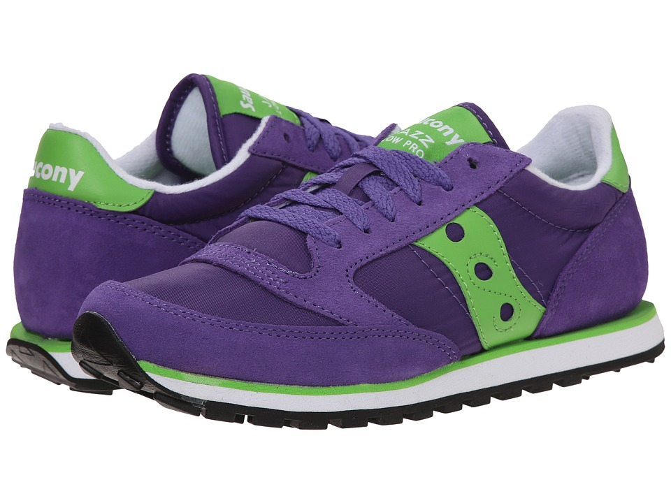 Saucony Originals - Jazz Low Pro (Purple/Green) Women's Classic Shoes