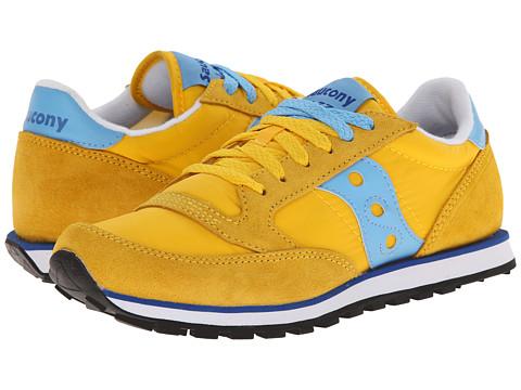 Saucony Originals - Jazz Low Pro (Yellow/Light Blue) Women's Classic Shoes