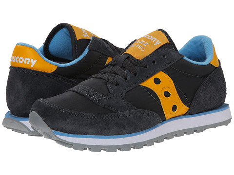 Saucony Originals - Jazz Low Pro (Charcoal/Orange) Women's Classic Shoes