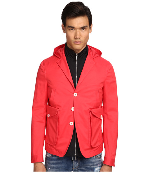 DSQUARED2 - Hoodie Jacket (Coral) Men