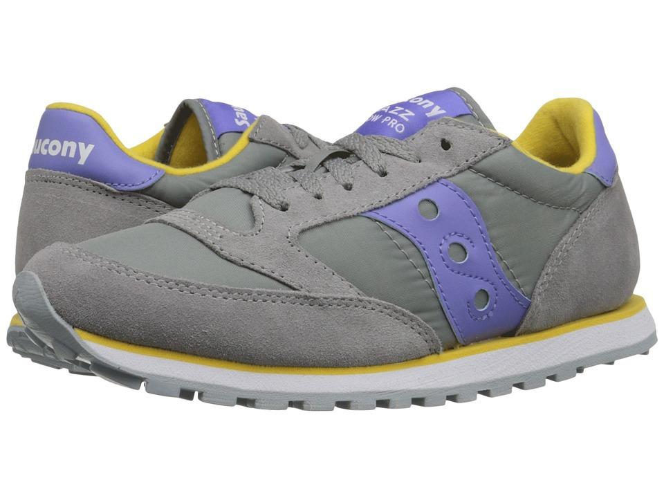 Saucony Originals - Jazz Low Pro (Grey/Purple 1) Women's Classic Shoes