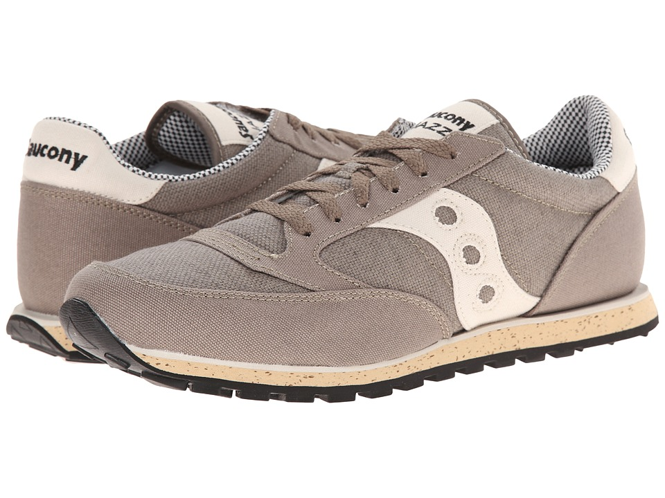 Saucony Originals - Jazz Low Pro Vegan (Tan/Off White) Men