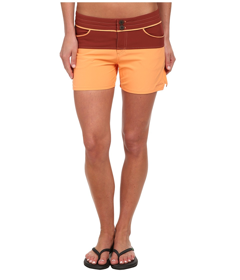 Patagonia Colorblock Meridian Shorts Rusted Iron Swimwear