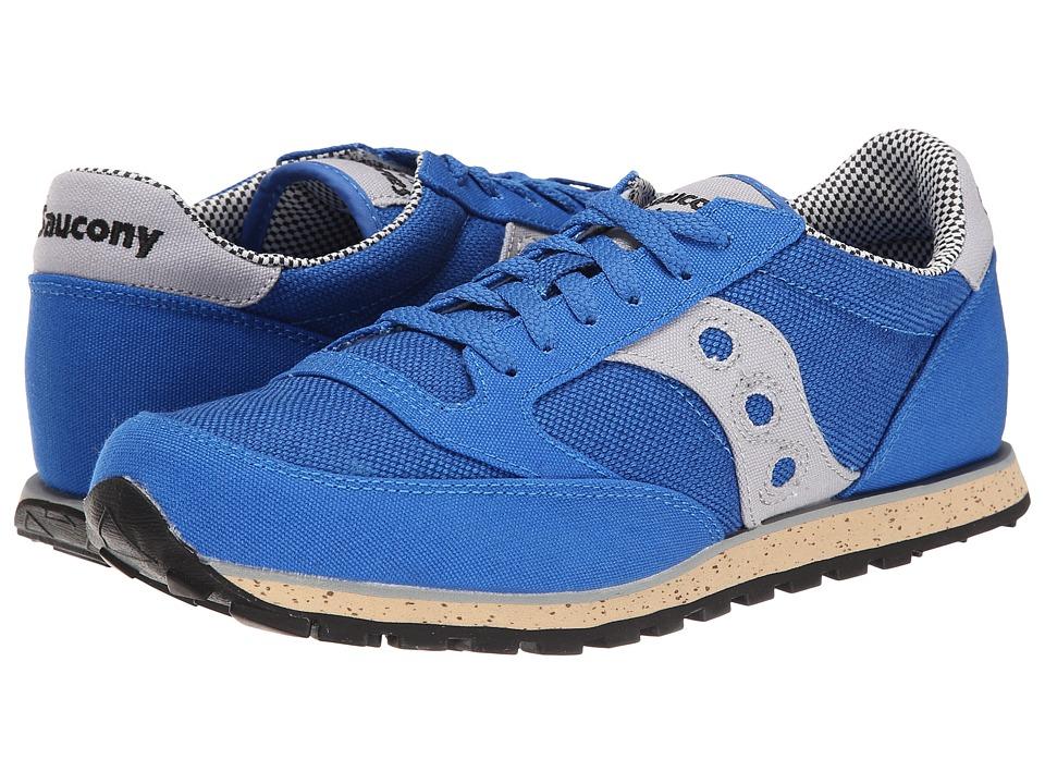 Saucony Originals - Jazz Low Pro Vegan (Blue/Grey) Men's Classic Shoes