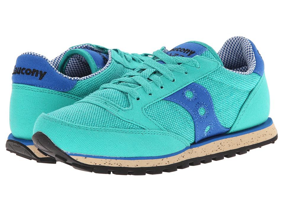 Saucony Originals - Jazz Low Pro Vegan (Bright Green/Blue) Women's Classic Shoes
