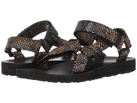 Teva - Original Universal Print (Black) Women's Sandals