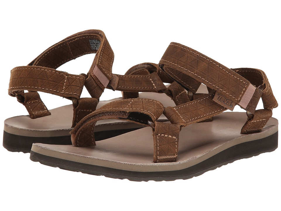 Teva Original Universal Leather Diamond (Toasted Coconut) Women