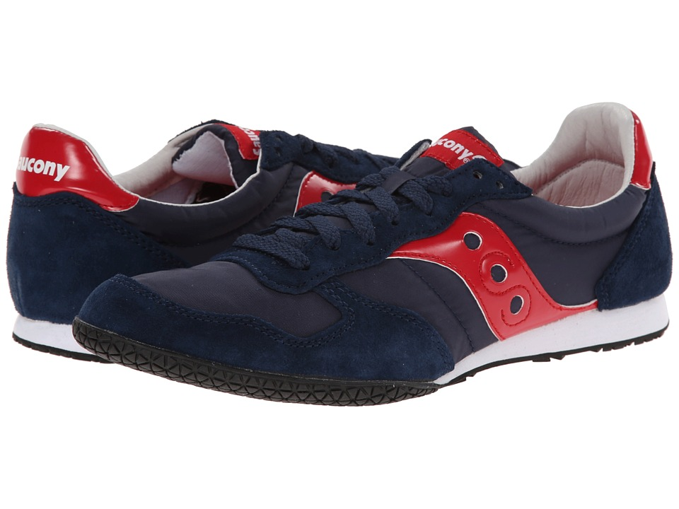 Saucony Originals - Bullet (Navy/Red) Men's Classic Shoes