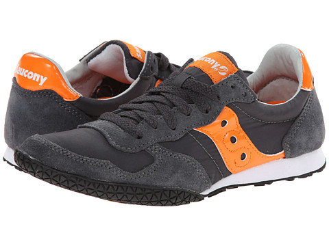 Saucony Originals - Bullet (Charcoal/Orange 1) Men's Classic Shoes