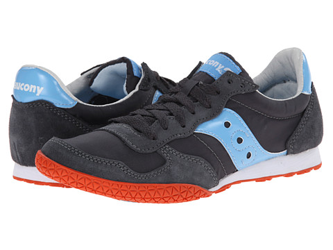 Saucony Originals - Bullet (Charcoal/Light Blue) Women's Classic Shoes