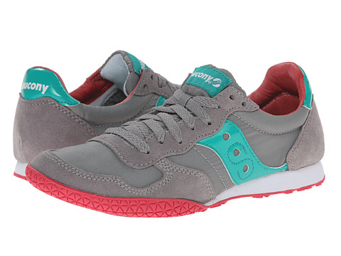 Saucony Originals - Bullet (Grey/Teal 1) Women's Classic Shoes