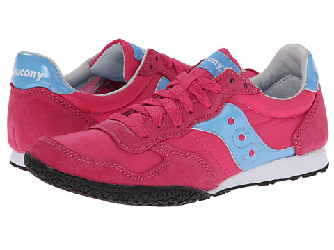 Saucony Originals - Bullet (Pink/Light Blue) Women's Classic Shoes