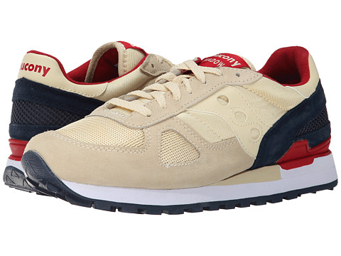 Saucony Originals - Shadow Original (Cream/Navy) Men's Classic Shoes