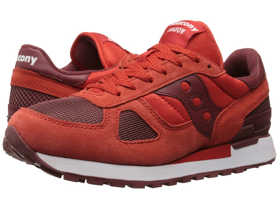 Saucony Originals - Shadow Original (Red/Burgundy) Men's Classic Shoes