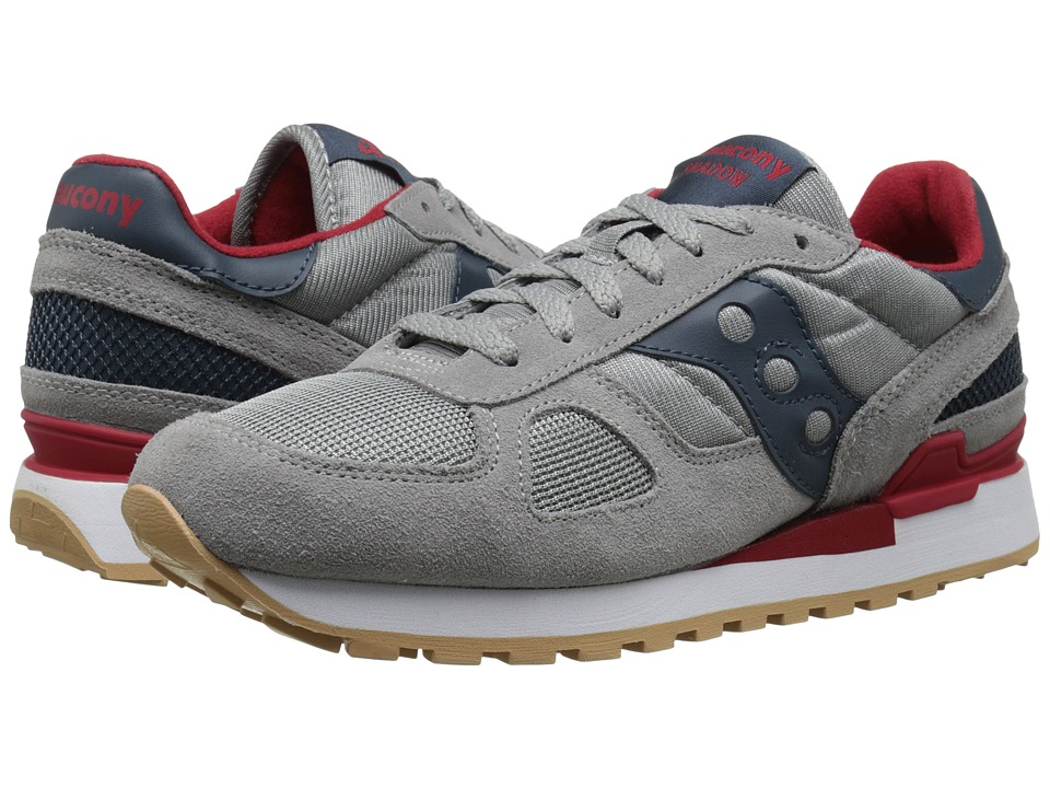 Saucony Originals - Shadow Original (Grey/Red) Men's Classic Shoes