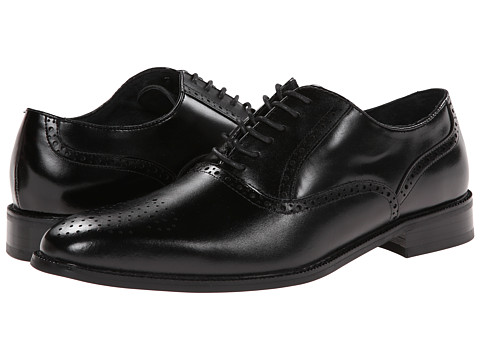 Stacy Adams - Bishop (Black) Men's Shoes