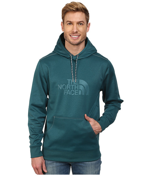 The North Face - Quantum Pullover Hoodie (Deep Teal Green) Men's Sweatshirt