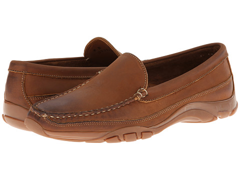 Allen-Edmonds - Boulder (Tan Leather) Men's Slip on Shoes
