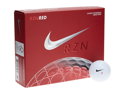 Nike Golf - RZN Red (White) Athletic Sports Equipment