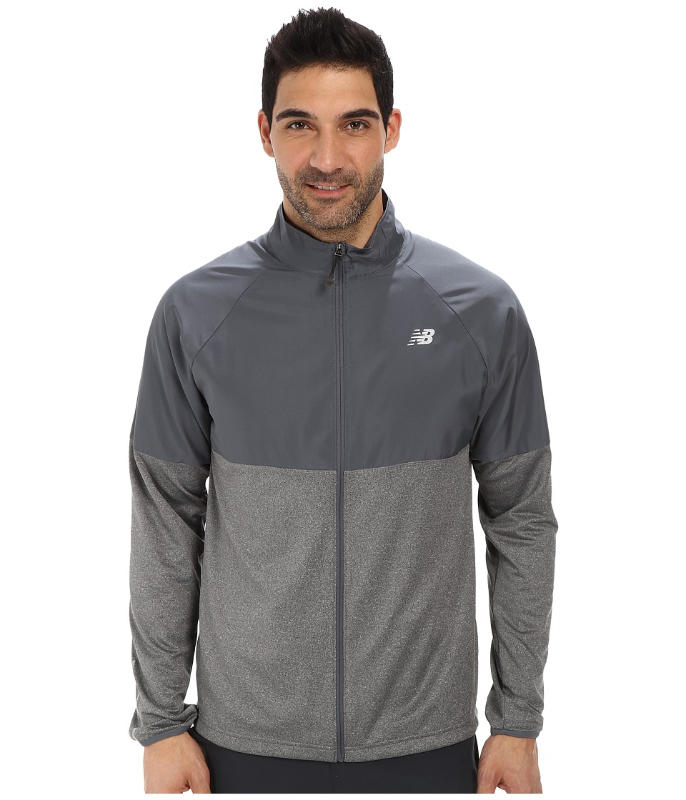 New Balance - Speed Jacket (Lead) Men's Coat