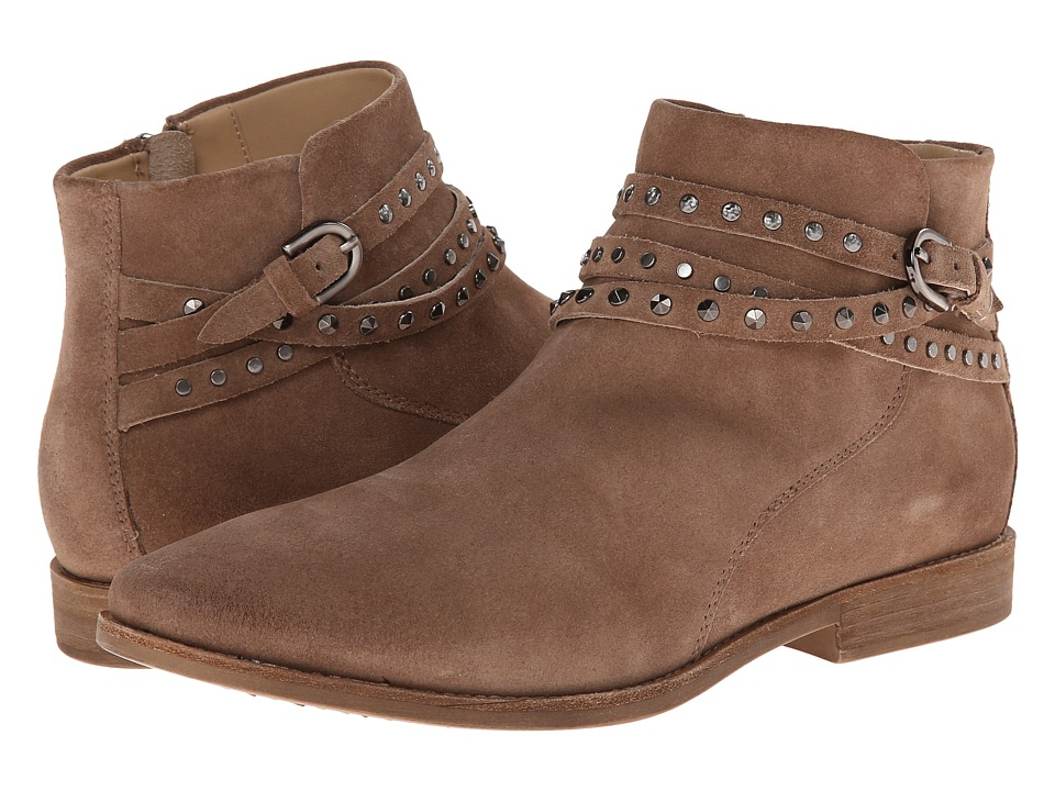 Geox - D Elixir (Taupe) Women's Pull-on Boots