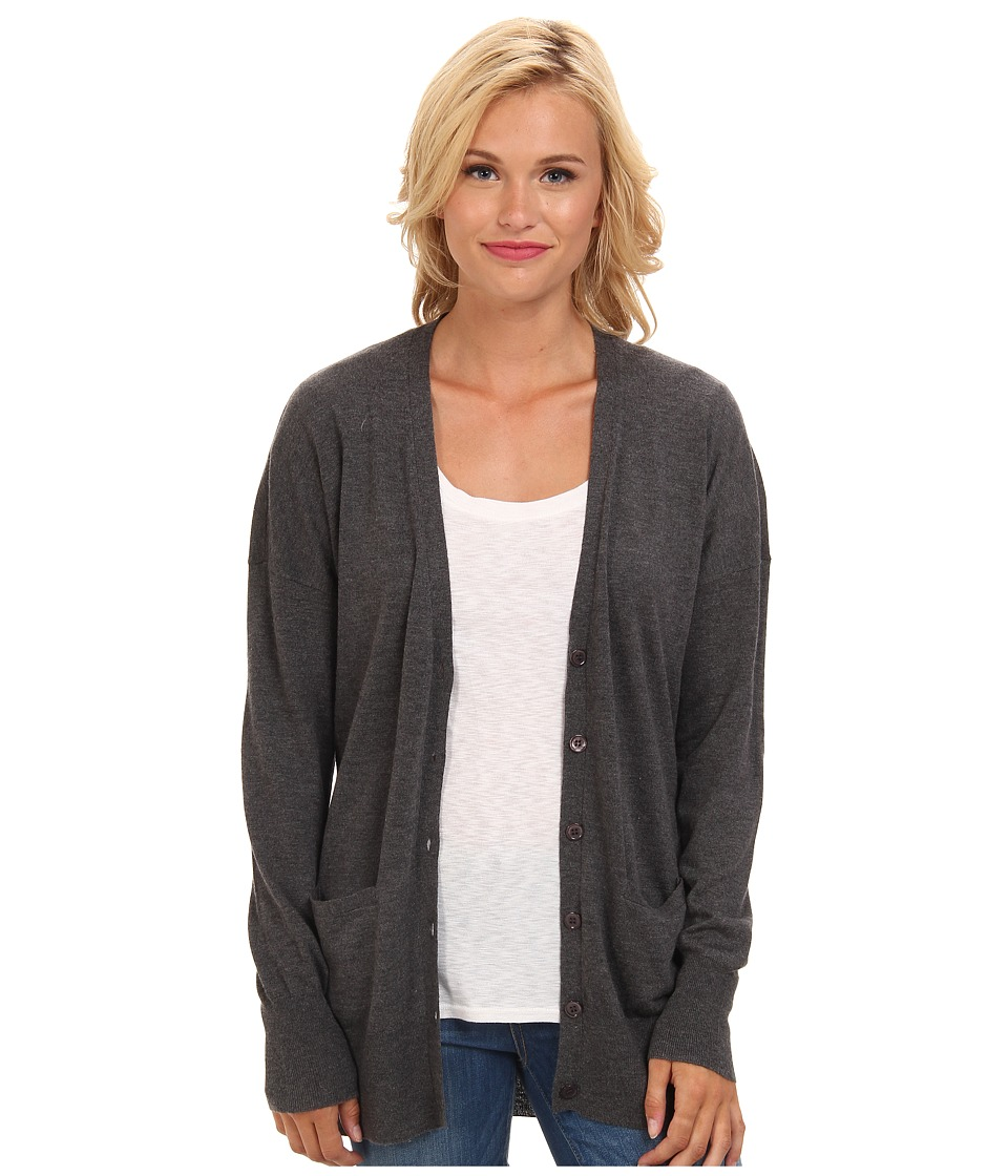 Joie - On Our Way D (Dark Heather Grey) Women's Sweater