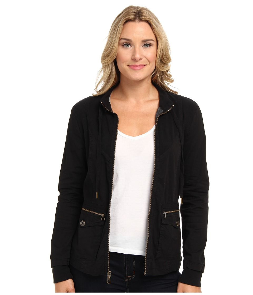XCVI - Back Country Zip Jacket (Black) Women's Jacket