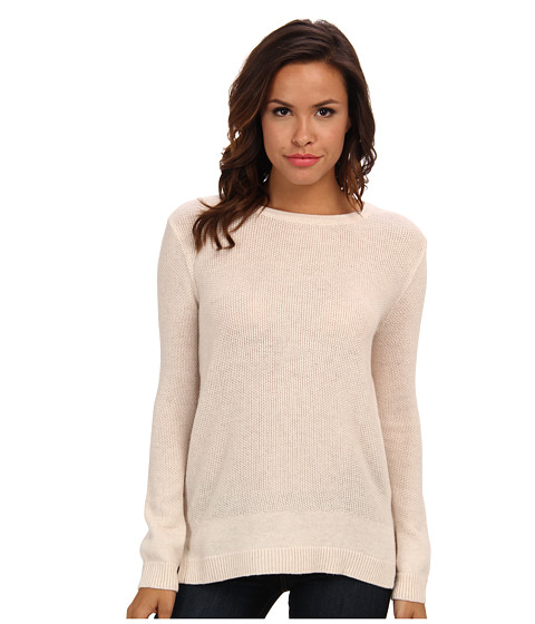 Joie - Idella (Heather Parchment/Heather Grey) Women's Long Sleeve Pullover