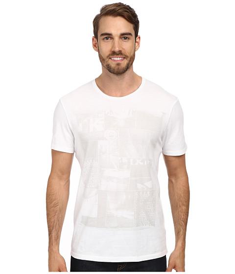 Calvin Klein Jeans - Boxed City Graphic Crew Neck (White) Men